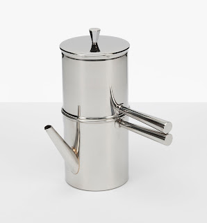 Stainless Steel Neapolitan Flip Coffee Maker