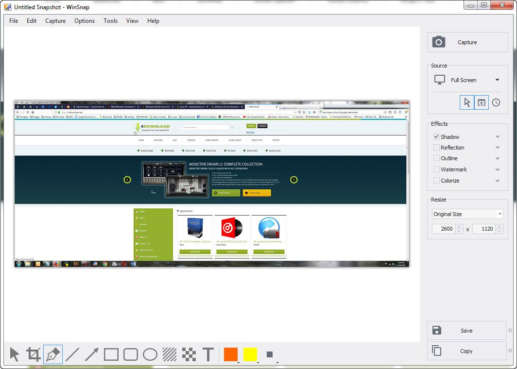 WinSnap v5.0.6 Full version