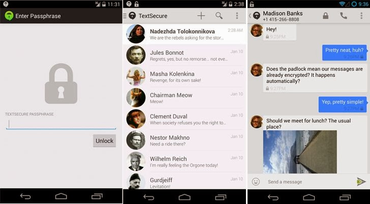 Chat app android open source  Free, open source alternatives