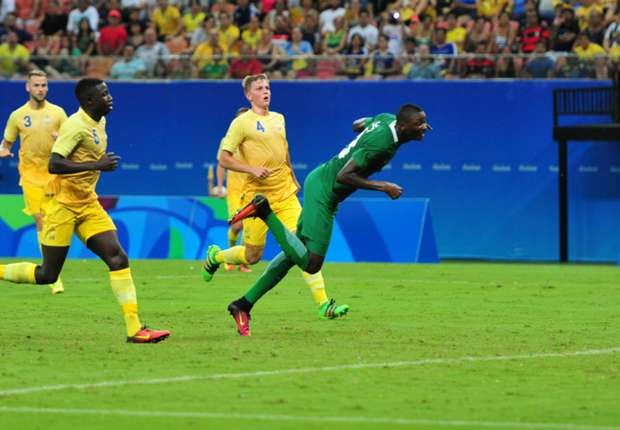 [Rio 2016 Olympics] Sweden 0 - Nigeria 1: Eagles qualify for quarterfinal in men's football
