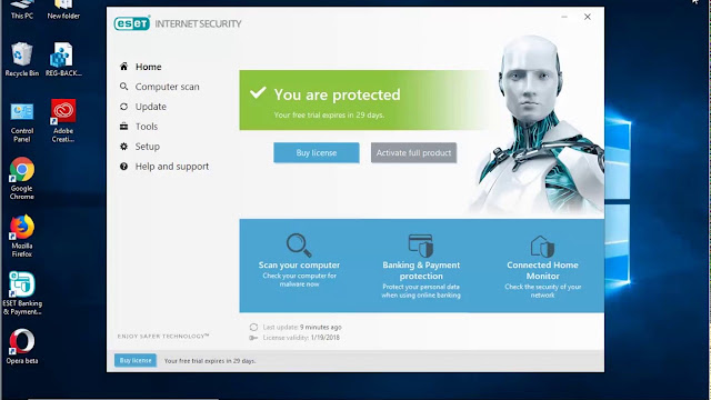 eset internet security free download with crack