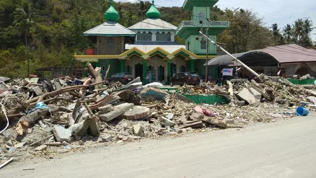 Kuasa Allah, Masjid Ini Masih Berdiri Kokoh Pasca Gempa-Tsunami! Begini Kesaksian Muadzin