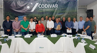 Assembleia de Prefeitos do CODIVAR acontece nesta quinta-feira (6) em Registro-SP