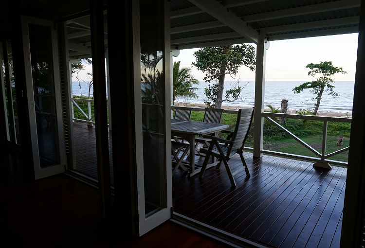 Windjana Beach House balcony, Mission Beach, Australia, travel, Euriental