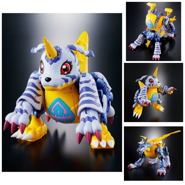 02 METAL GARURUMON FIGURA 13 CM DIGIMON ADVENTURE DIGIVOLVING SPIRITS