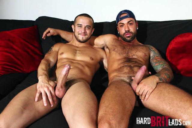 Hard Brit Lads - Alex Graham and Sergi Rodriguez