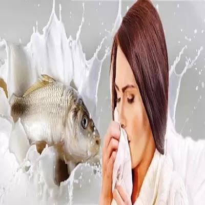 هل السمك واللبن يضاعف نزلات البرد؟
