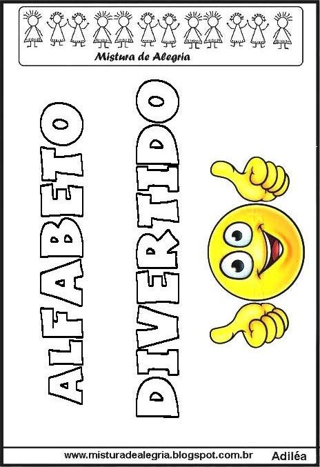 Atividades Para Baixar Alfabeto Emojis Para Imprimir E Colorir