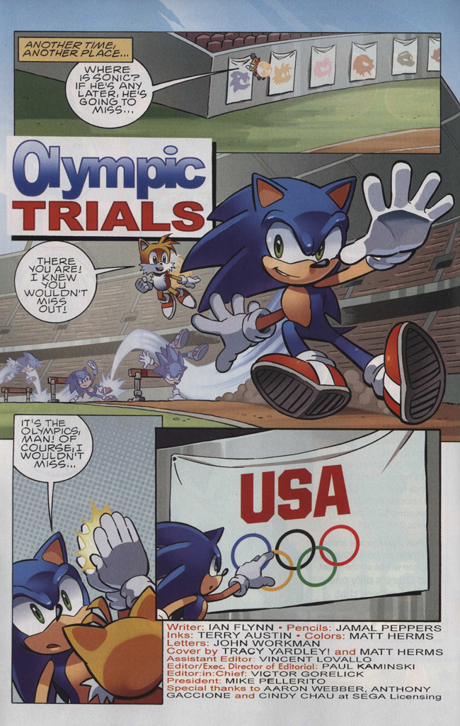 Read online Sonic The Hedgehog comic -  Issue #242 - 4