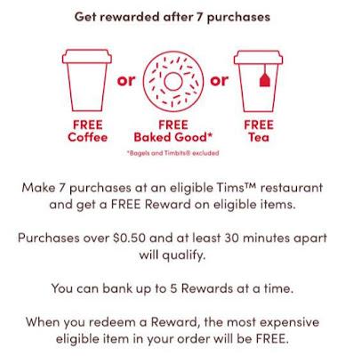 register tim hortons rewards card