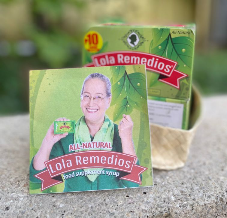 Box of Lola Remedios all-natural food supplement