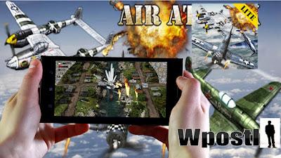 لعبة أندرويد : AirAttack HD  - حائزة على جوائز الجيل المقبل من أعلى إلى أسفل مطلق النار القتال الجوي مع رسومات 3D مذهلة  مع الصوت عظيم في لعبة، والآثار واللعب رهيبة.