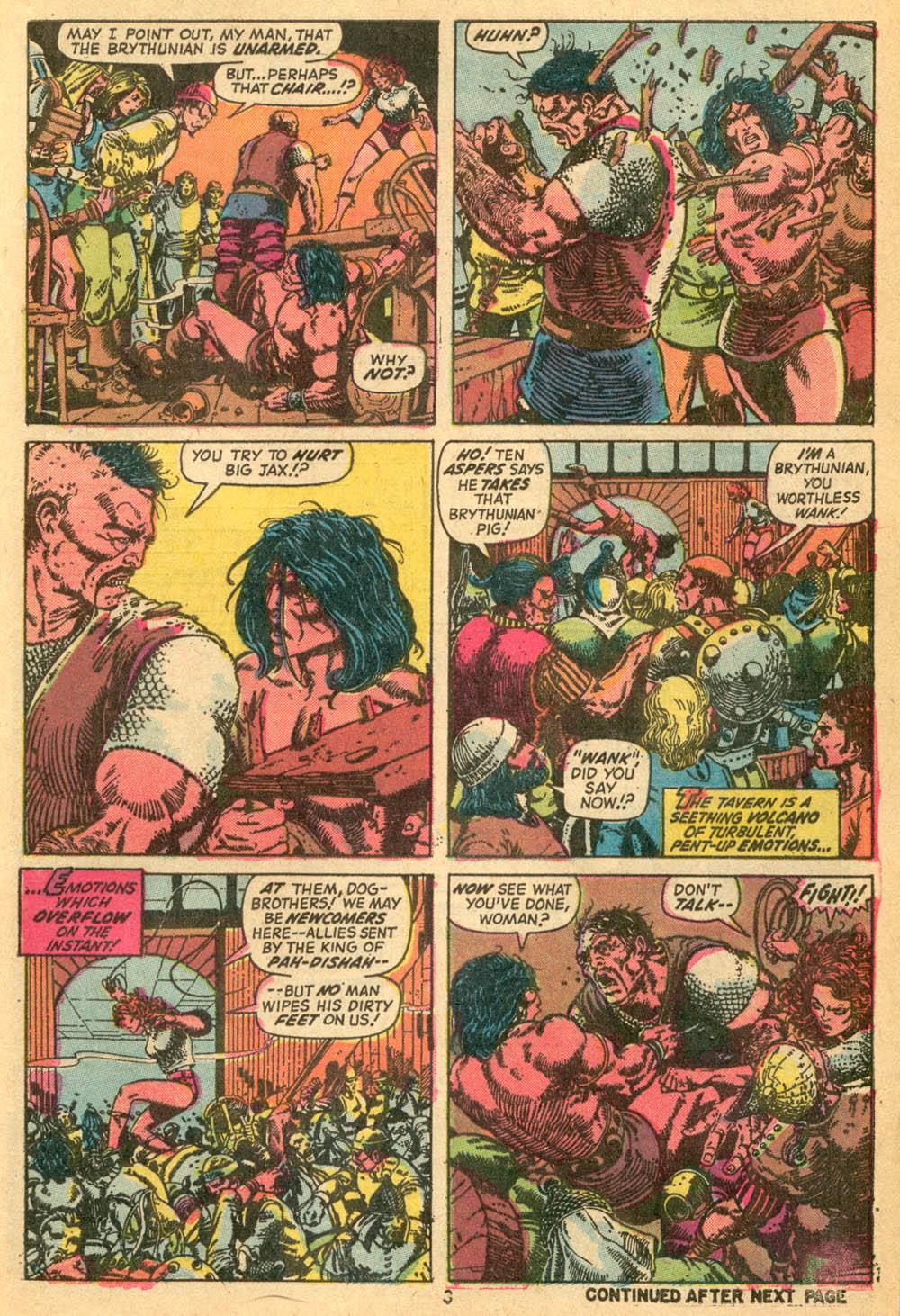 Conan the Barbarian (1970) Issue #24 #36 - English 4