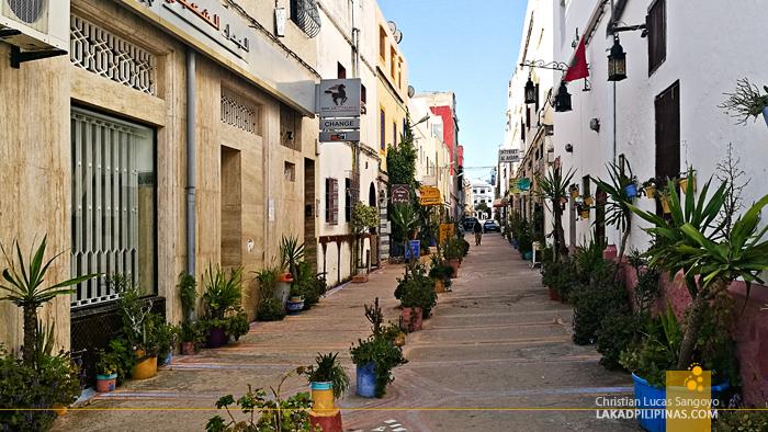 Asilah Morocco Street