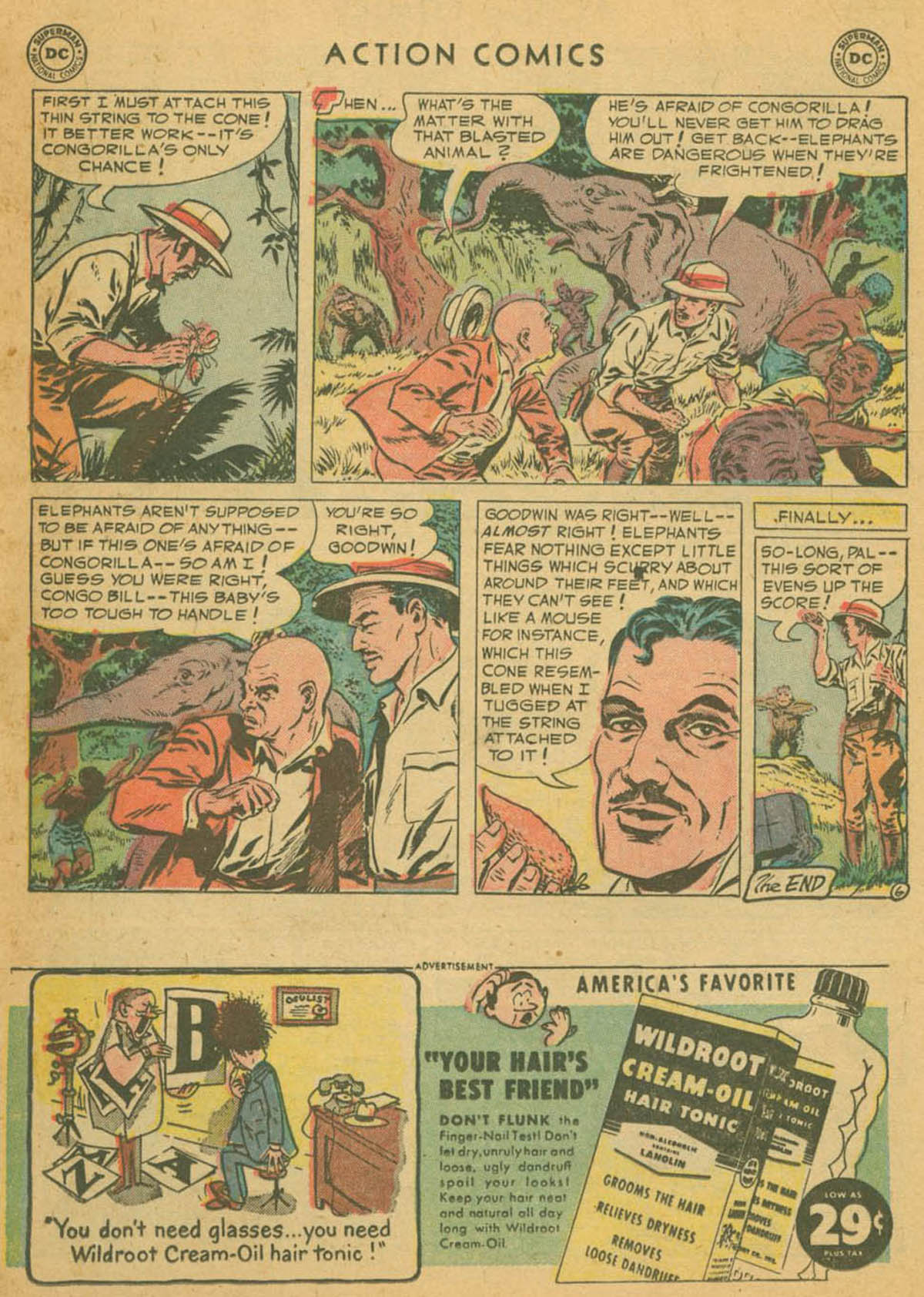 Read online Action Comics (1938) comic -  Issue #178 - 22