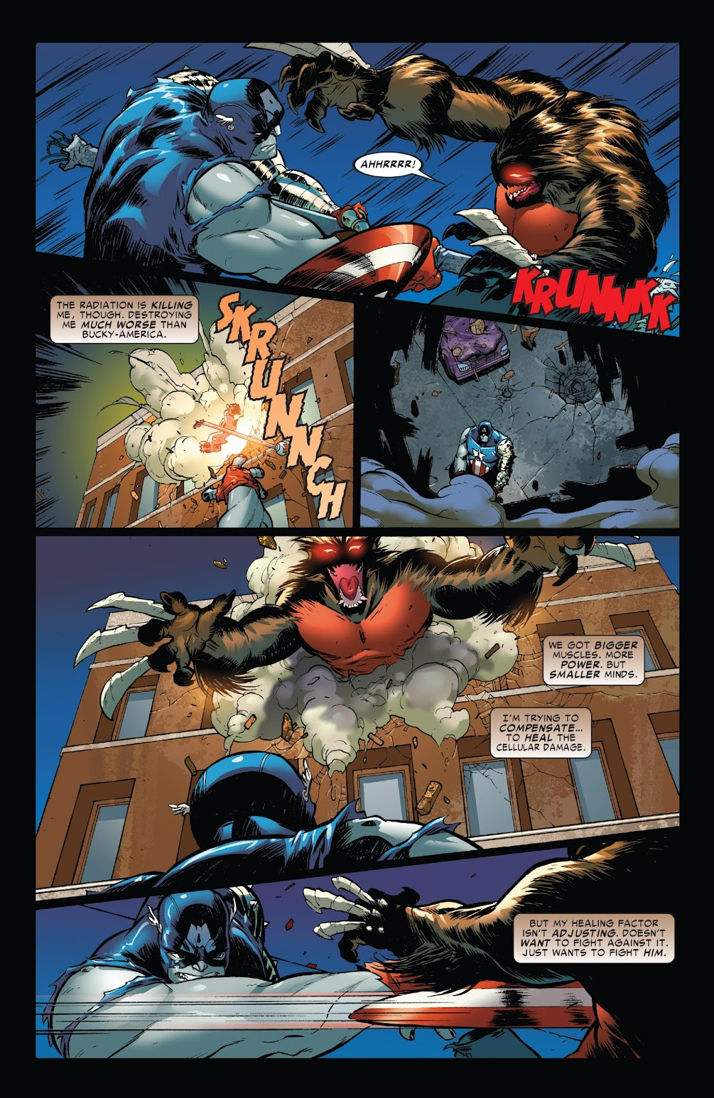 World War Hulks: Wolverine vs. Captain America Issue #1 #1 - English 6