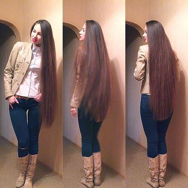 Quiero mi cabello super largo