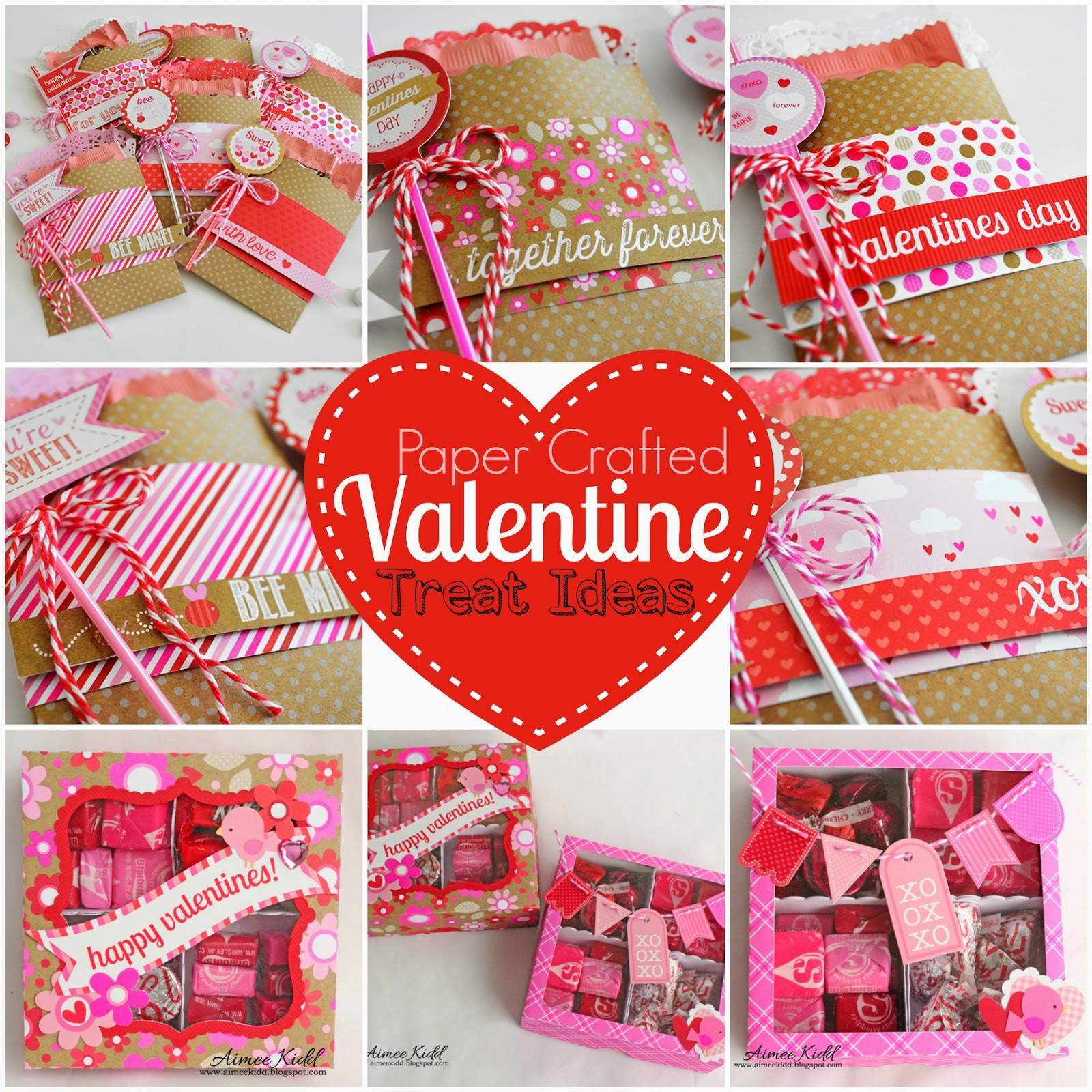 Valentines Treat Bags By Wendy Sue Anderson Hi Doodlebug Friends It S Sharing A Fun Little Project Chocolate Is Always Great To