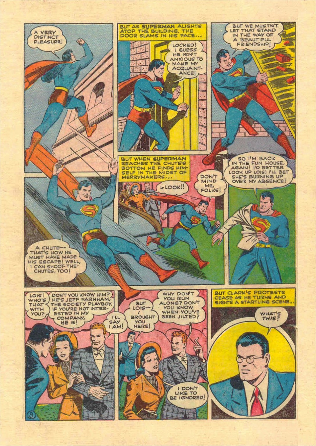 Read online Action Comics (1938) comic -  Issue #46 - 9