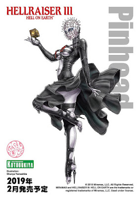 HORROR Bishoujo Series Hellraiser III Hell on Earth Pinhead