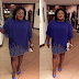 Eniola Badmus stuns in blue Fashion at AFRIMA 2016