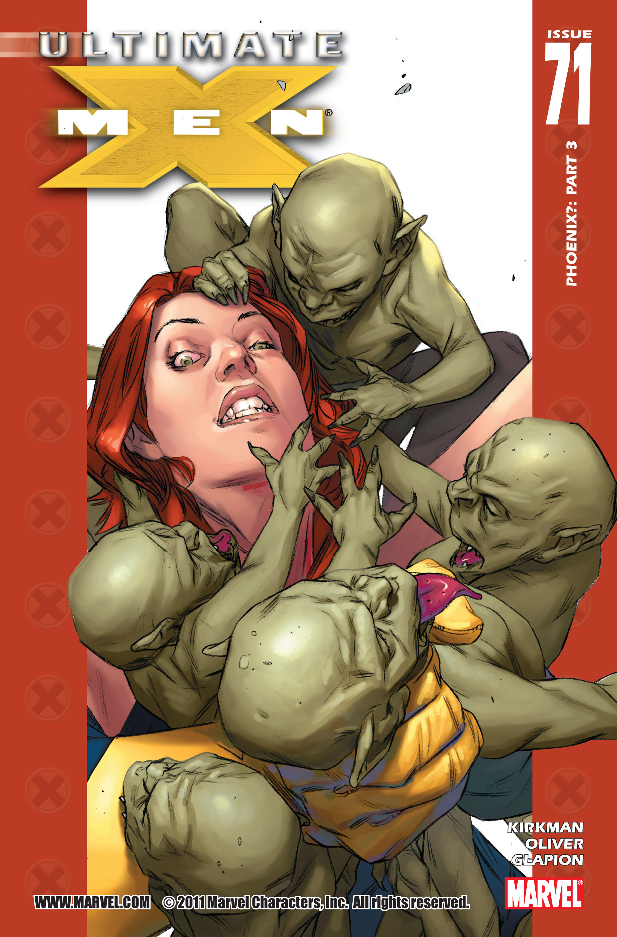 Read online Ultimate X-Men comic -  Issue #71 - 1