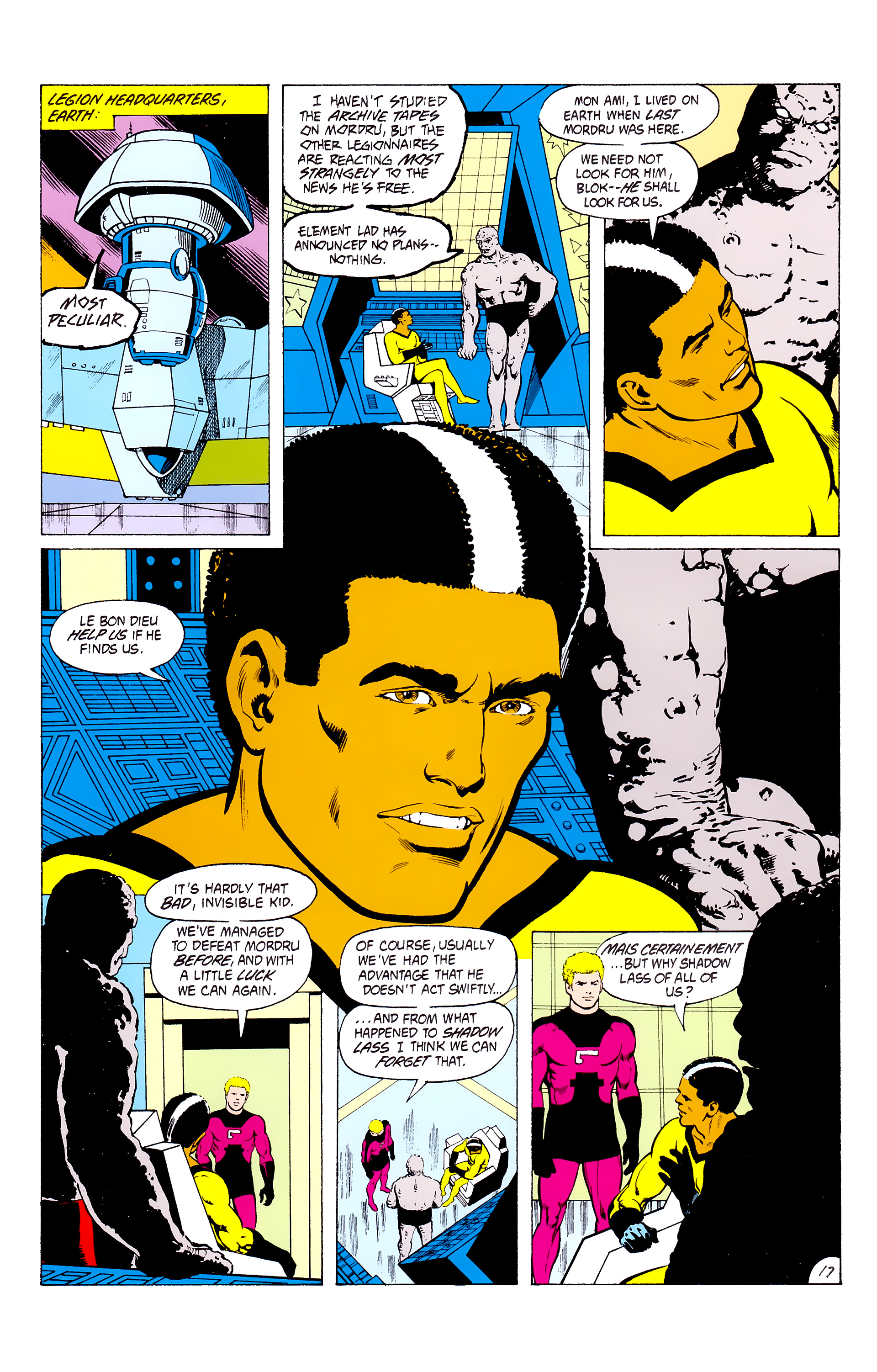 Legion of Super-Heroes (1980) _Annual_3 Page 17