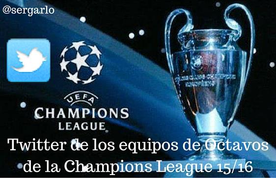 Twitter, Champions League, Octavos, Redes Sociales, Social Media,