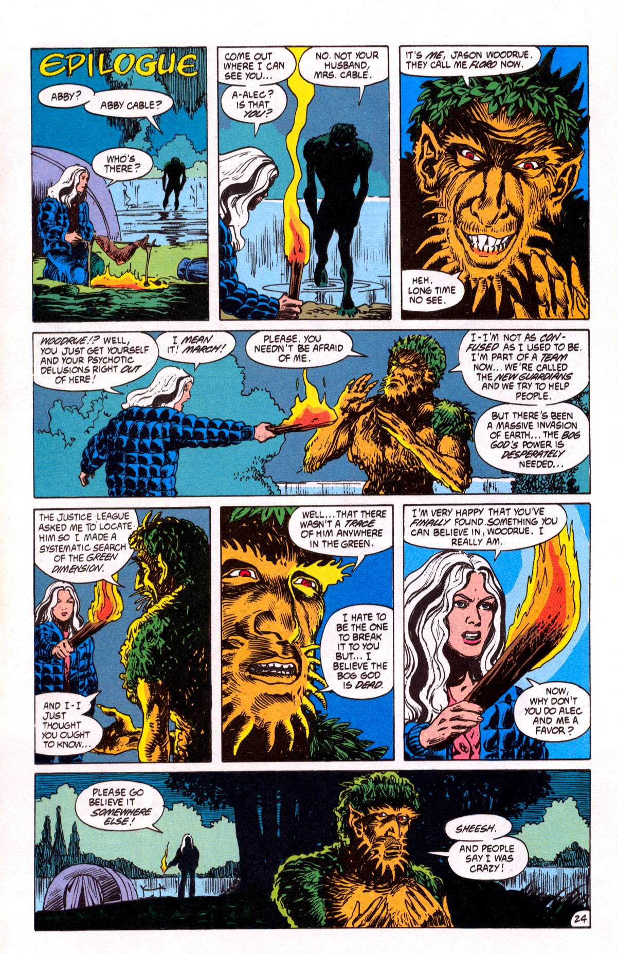 Swamp Thing (1982) Issue #82 #90 - English 25