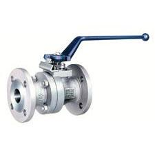 metal seated ball valve with handle and flange connections