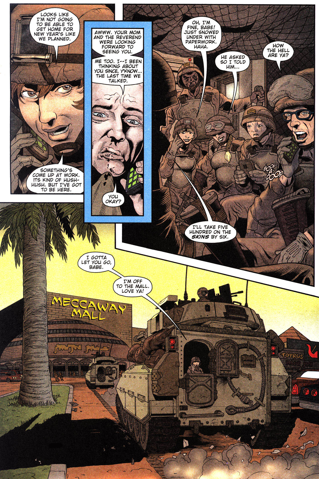 Read online Army @ Love comic -  Issue #2 - 6