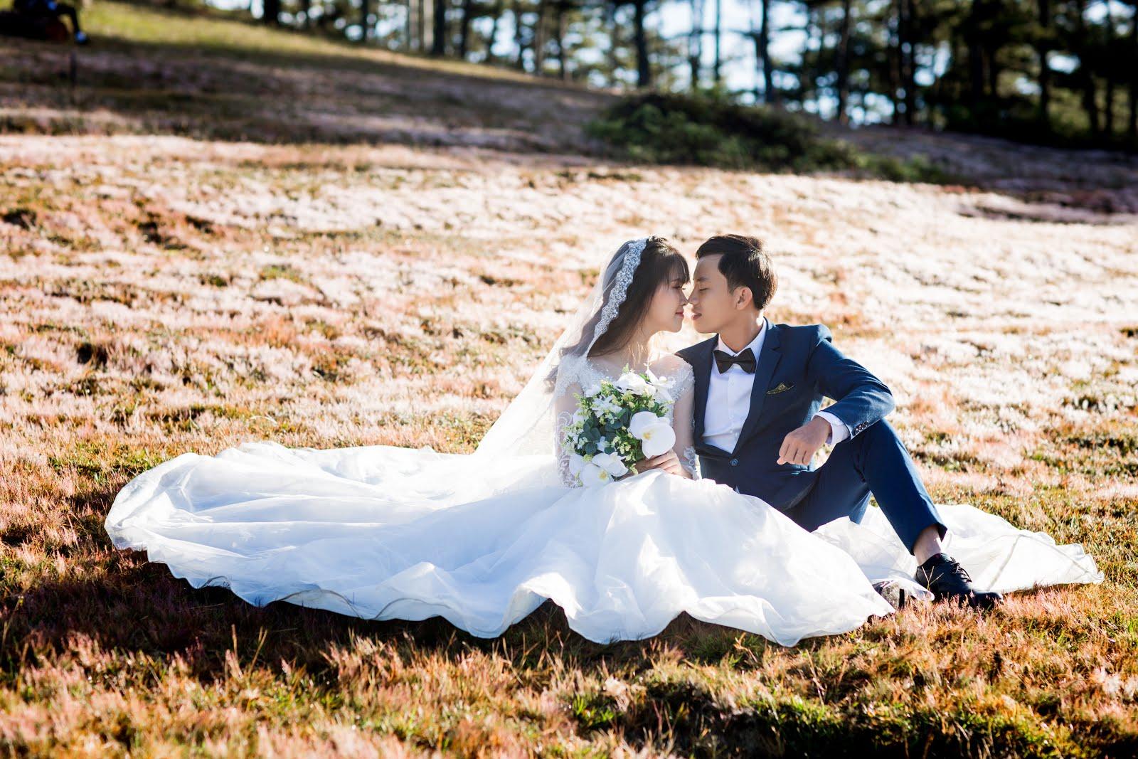 Chụp ngoại cảnh cưới Đà Lạt