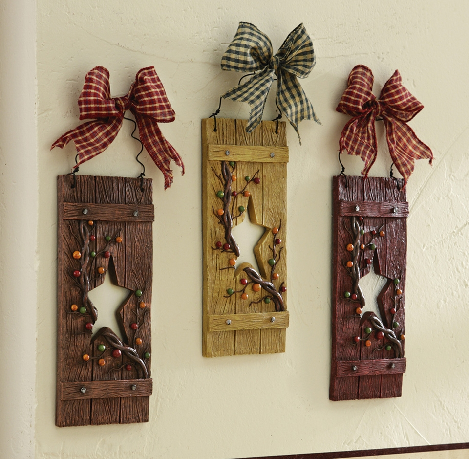 Diy Country Decor Diy Wood Decorations