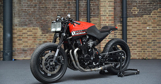 Race-bred Rendition - X AXIS Honda CBX750