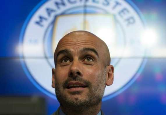 Manchester City manager, Pep Guardiola.
