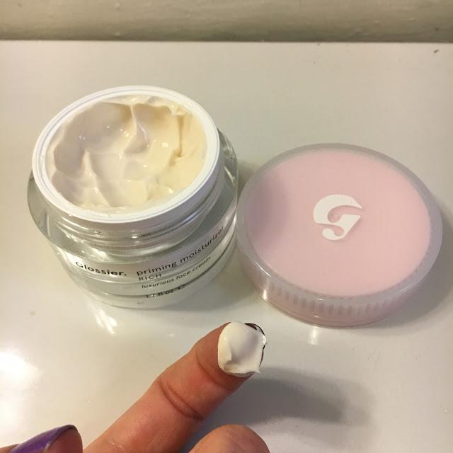 Glossier, Glossier Priming Moisturizer Rich, skincare, skin care, moisturizer, face cream