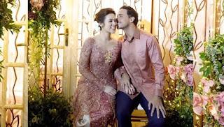 Raisa dan Hamish Resmi Menjadi Suami Istri