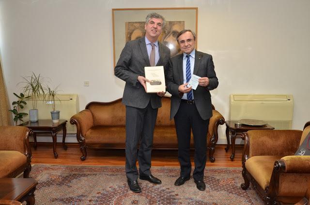 Επίσκεψη Δ.Φατούρου στο Πανεπιστήμιο Ιωαννίνων