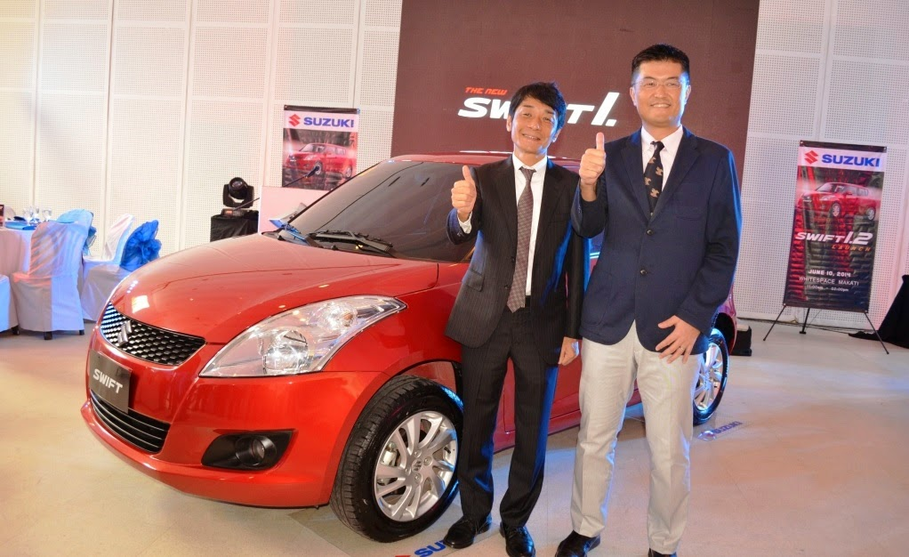 Suzuki Philippines launches all-new Swift 1.2