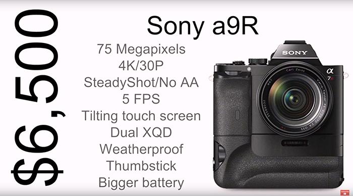 Sony A9R