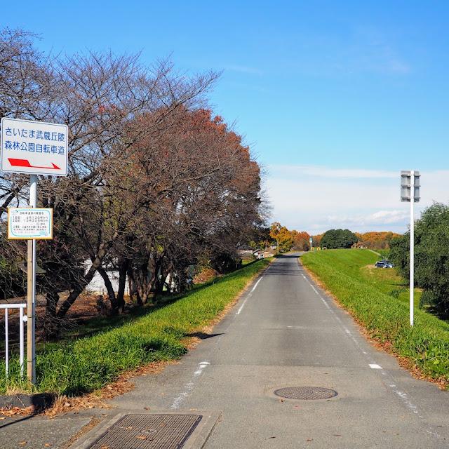 荒川自転車道 さいたま武蔵丘陵森林公園自転車道