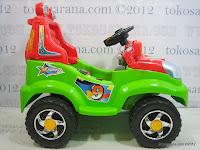 3 Mobil Mainan Aki Pliko PK8518N 4x4 Jeep Max Express