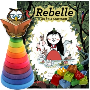 Rebelle au bois charmant Clément Bernadou
