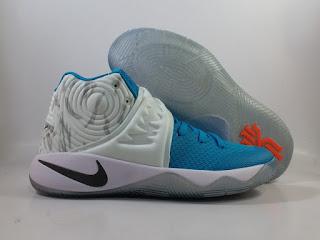 Nike Kyrie 2 Chrismas Sky Blue White  Jual Sepatu Basket Replika Import Premium