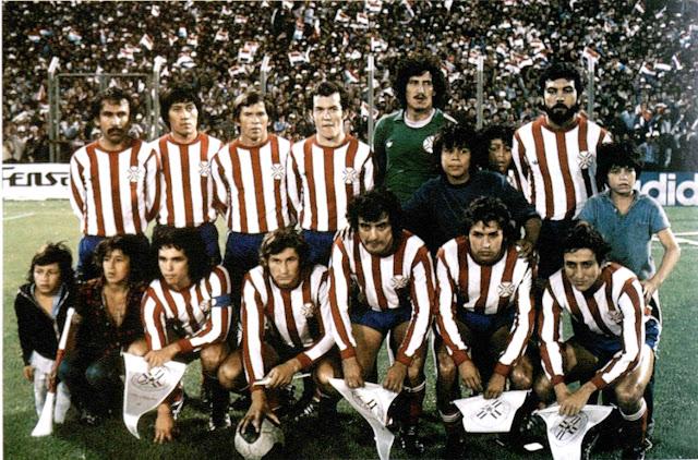 Formación de Paraguay ante Chile, Copa América 1979, 11 de diciembre