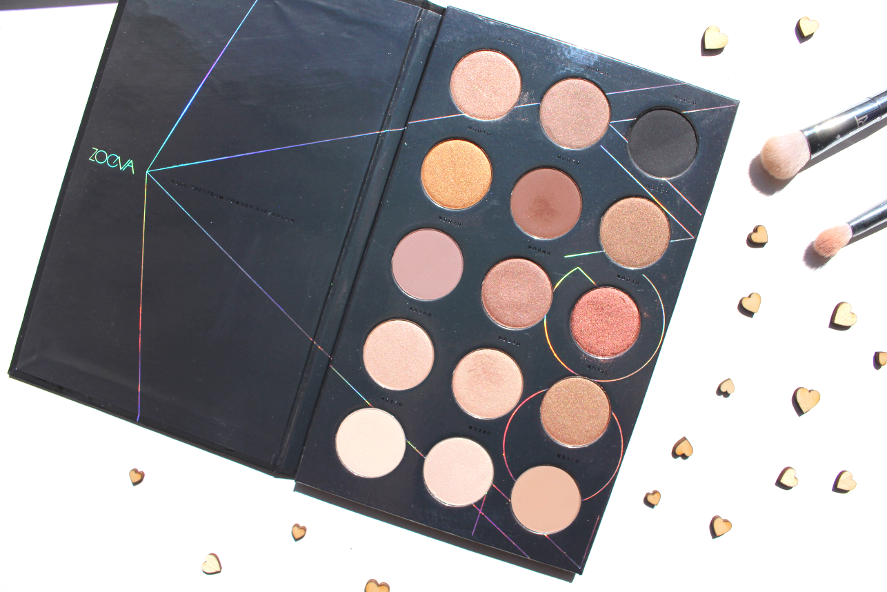 Zoeva, Nude Spectrum palette, review, beauty, cosmetics, tips, how to
