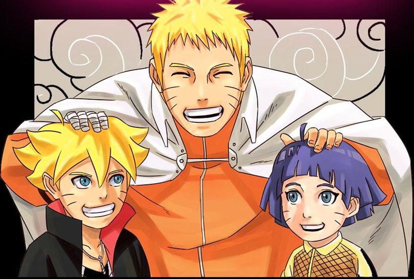 Naruto Boruto and Himawari