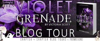 Blog Tour and Giveaway: Violet Grenade by Victoria Scott