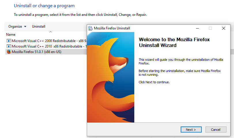 Oracle EBS Browser Support Update for Mozilla Firefox