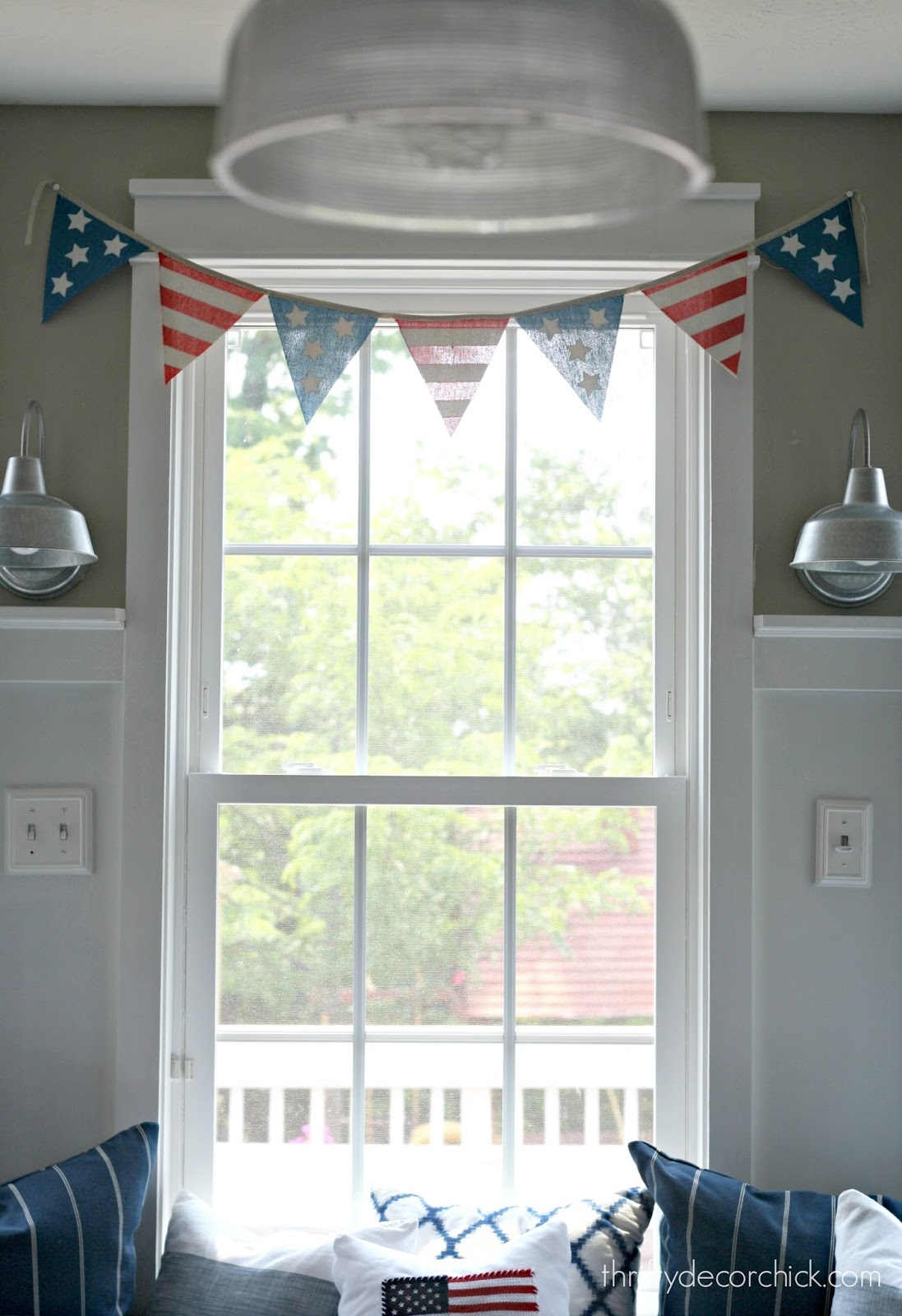 Fourth of July pennants